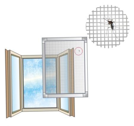 Москитные сетки на окна у нас лучшие