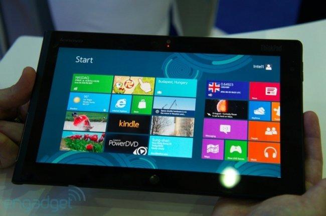Lenovo Miix 8 — небольшой металлический Windows-планшет