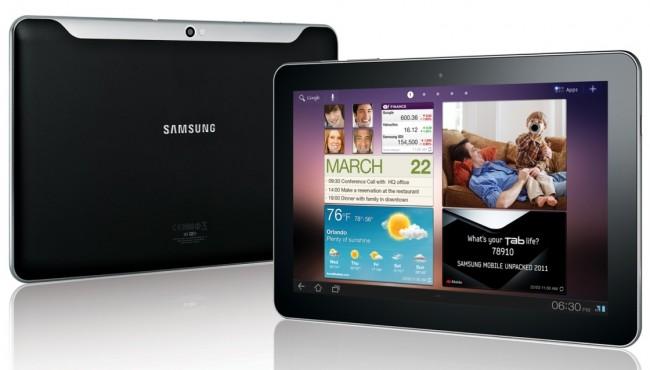 Samsung планирует представить два новых планшета