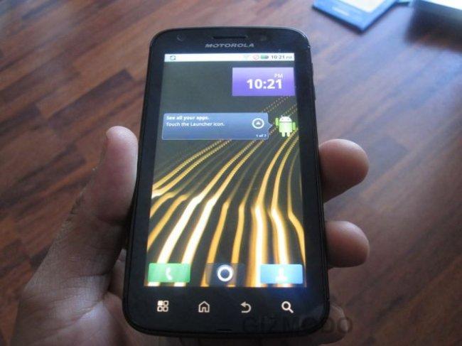 Новый смартфон от компании Motorola